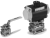 DIR-ACT® 3 Piece Ball Valve -- Model  1