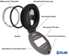 Infrared Inspection Windows -- IR Windows: IRW-Series with PIRma-Lock™ - Image