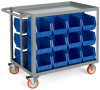 RELIUS SOLUTIONS Welded Bin Carts -- 5992918
