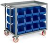 RELIUS SOLUTIONS Welded Bin Carts -- 5992918