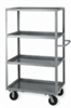 Mobile Cart, 5 Lipped Shelves, 24x48x63