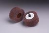 3M Scotch-Brite CB-ZR Coated Aluminum Oxide Flap Wheel - P120 Grit - 1 1/4 in Face Width - 2 1/2 in Diameter - 80679 -- 051144-80679 - Image