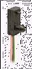 SR13 Series Hall-Effect Digital Position Sensor; Snap-in Housing; Sinking Output; unipolar magnetics; 3.8 to 30 Vdc supply voltage -- SR13C-A1