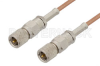10-32 Male to 10-32 Male Cable 12 Inch Length Using RG178 Coax, RoHS -- PE36522LF-12 -- View Larger Image