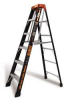 LITTLE GIANT MicroBurst M6 Fiberglass Stepladder -- Model# 15705-001