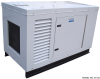 QuietRun Ford Powered 27.5 kW LP/Natural Gas Generator - Image