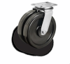 Standard Dual Wheel Casters -- 292 Series -- View Larger Image
