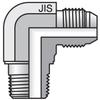 JIS 30 Degree Flare to JIS B203 (BSPT) -- 8C3T4S