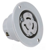 Locking Flanged Receptacle Outlet -- 614