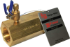 Low Pressure Loss Venturi Flow Meter -- V-Brass Series -- View Larger Image
