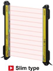 Delightful KEYENCE Safety Light Curtain: GL S Series    GL S12SH Image