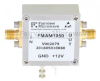 1 dB NF Low Noise Amplifier, Operating from 50 MHz to 1 GHz with 18 dB Gain, 16 dBm P1dB and SMA -- FMAM1050 - Image