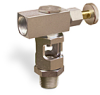 Inverted Angle Heavy Duty Sight Feed Valve -- B743 Series