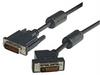 DVI-D Dual Link LSZH DVI Cable Male / Male 45 Degree Left, 10.0 ft -- MDA00038-10F -Image