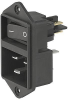 IEC Appliance Inlet C20 with Line Switch, 2-pole