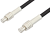 MCX Plug to MCX Plug Cable 24 Inch Length Using RG174 Coax, RoHS -- PE3295LF-24 -Image