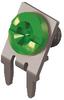 Slim-Line PC Screw Terminal, 60°-Green Screw Captivated -- 7758-6 -Image