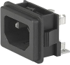 IEC Appliance Inlet C14 with Fuseholder 1- or 2-pole -- GSF2 - Image