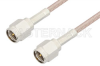 SMA Male to SMA Male Cable 6 Inch Length Using RG316 Coax, LF Solder -- PE3573LF-6 -Image