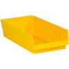 "17 7/8"" x 8 3/8"" x 4"" Yellow - Plastic Shelf Bin Boxes -- BINPS113Y -- View Larger Image"