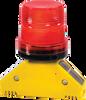 Monster™ Motion Safety Solar Barricade Lights - D-Bolt, Type D (360˚ visibility) -- BS.D.D1