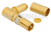 D-Sub Receptacle Right Angle Contact Crimp/Solder Attachment For RG58, RG141, RG303 -- PE4816 -Image