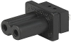 IEC Appliance Outlet D, insert Mounting, Solder Terminal -- 5086 -- View Larger Image
