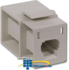 Hubbell MT-RJ Module Feed Through (flush mount) -- FAMTRJK