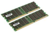 CRUCIAL 2GB KIT (1x2GB) DDR PC3200 400MHZ184PIN DIMM ECC UNBUFFERED -- CT2KIT12872Z40B