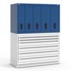 R2V Vertical Drawer Cabinet, 5 Drawers (54
