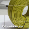 16 Gauge Rebar Tie Wire - Case (20 coils) PVC Coated -- RBTWPVC35