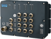 EN 50155 12-port Full Gigabit Managed Ethernet Switch with PoE/PoE+ -- EKI-9512P-HV -Image