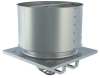 Smoke & Heat Low Profile Propeller Roof Ventilator -- LUBSH