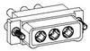 Nanominiature Coaxial Connectors -- CX060PC2RG036N
