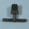 Black HDPE Tube Fittings -- 62058 - Image