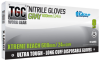 The Glove Company TGC WorkGear Gray Medium Nitrile Disposable Gloves - Textured Finish - 24 in Length - 348098-00087 -- 348098-00087