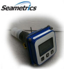 "SeaMetrics Battey Powered Digital Flow Computer with Paddlewheel Sensor 1/2"" to 3"" Pipe -- FT415M-IP81P-04"