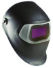 3M Speedglas 100 07-0012-31BL-HA Black Helmet Assembly - Auto-Darkening Lens - Battery Powered - 3.66 in Viewing Width - 1.73 in Viewing Height - 051131-49529 -- 051131-49529 - Image