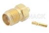 SMA Female Connector Solder Attachment for PE-047SR, PE-SR047AL, PE-SR047FL -- PE4418 -Image