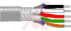 Cable; 5 cond; 24AWG; Strand (7X32); Foil+braid shielded; Chrome jkt; 100 ft. -- 70005265 -- View Larger Image