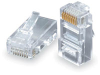 RJ45 Cat5e 8P/8W Plug Solid Cable -- KRJ45/5SLD-100