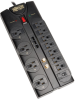 12-outlet, 8-ft Cord, 2880 Joules, Tel/Modem, Ethernet, Coaxial Protection - Protect It! Surge Suppressor -- TLP1208SAT-Image