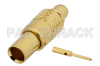 MMCX Plug Connector Solder Attachment for PE-SR405AL, PE-SR405FL, PE-SR405FLJ, PE-SR405TN, RG405 -- PE44453 -Image