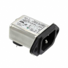 Power Entry Connectors - Inlets, Outlets, Modules -- 4-6609987-5-ND