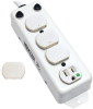 For Patient-Care Vicinity – UL 1363A Medical-Grade Power Strip, 4 15A Hospital-Grade Outlets, Safety Covers, 7 ft. Cord -- PS-407-HG-OEM