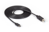 USB 3.1 Cable Type C Male to USB 2.0 Type B Male 2-m (6.5-ft.) -- USBC2TYPEB-2M -- View Larger Image