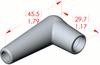 Angle Boot Insulator -- 16039 - Image