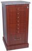 Wood Look 108 Unit-Dose Medication Cart, Standard Packa.. -- WL108BOX -- View Larger Image