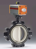 Pneumatically Actuated Butterfly Valve Type 241-242