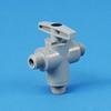 PVC Three-Way Plastic Ball Valves 629 Series -- 22161